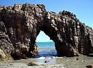 Hole in Rock, Jericoacoara Beach, Brazil 2007