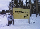 [Polar Circle in Sweden, April 1997]